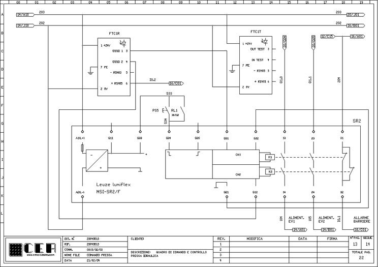 Schemi Elettrici Quadro : C e a progettazione realizzazione di schemi elettrici