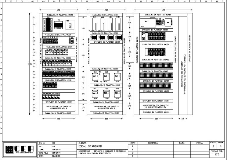 Schemi Elettrici Per Quadri : C e a progettazione realizzazione di schemi elettrici