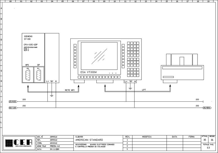 Schemi Elettrici Dwg : C e a progettazione realizzazione di schemi elettrici