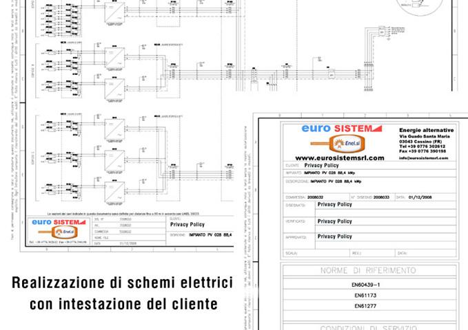 Schemi Elettrici Per Quadri : C e a progettazione schemi elettrici per quadri di